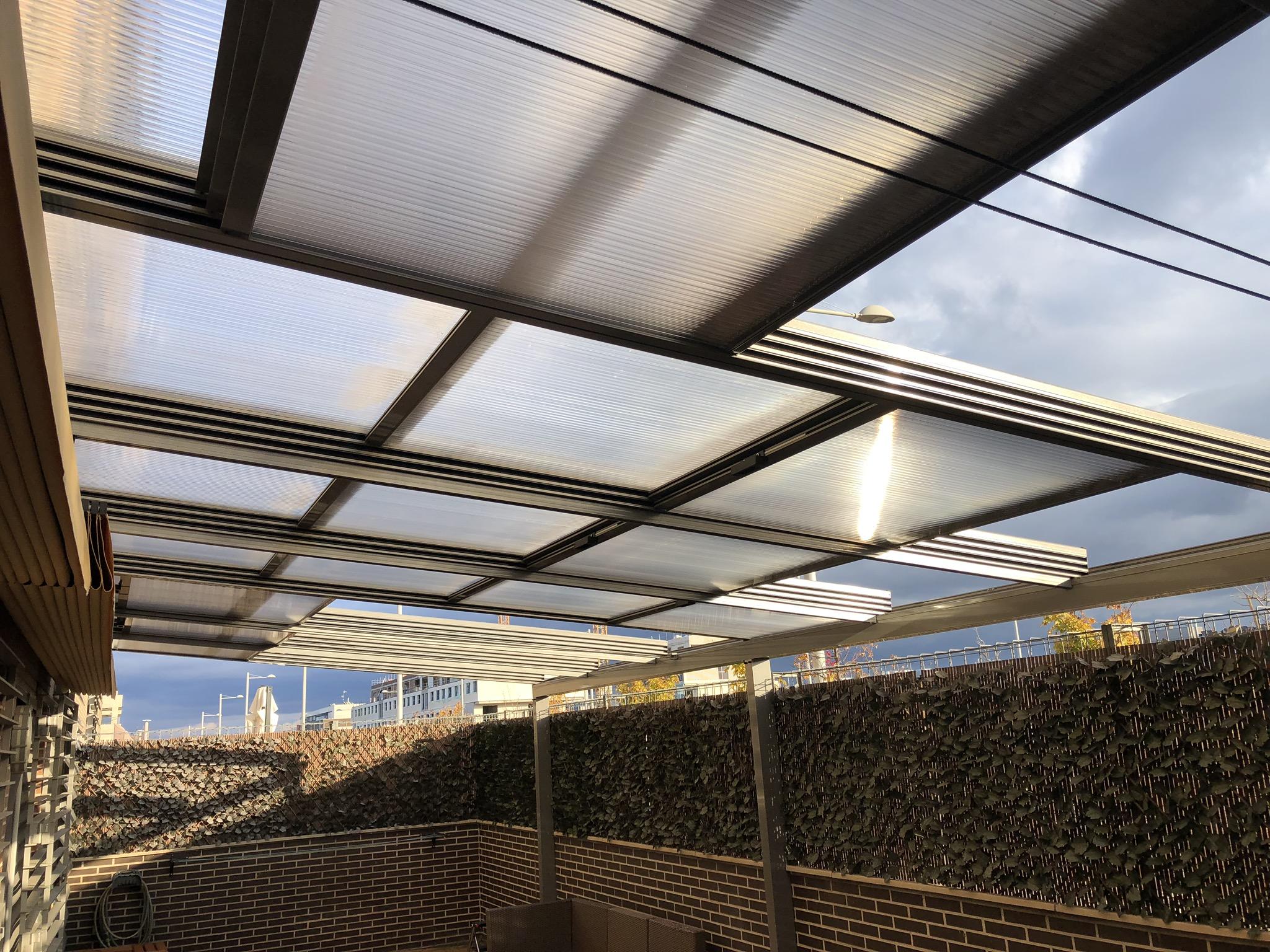 techos móviles en Madrid de calidad.